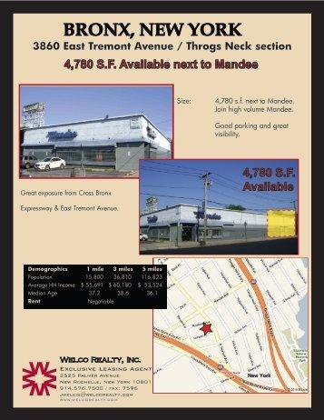 Mandee Bronx - Welco Realty, Inc