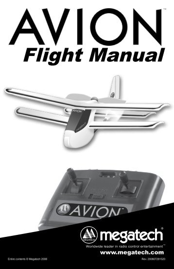 Flight Manual - High Definition Radio Control