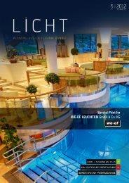 Special Print for WE-EF LEUCHTEN GmbH & Co. KG