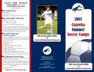 2011 Catawba Summer Soccer Camps