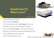 PointCloud 7.0 What's new? - download - Kubit GmbH