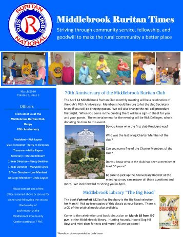 Ruritan Times March 2010 - Middlebrook Virginia Community ...