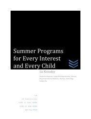 Summer Programs - the International School of Belgrade