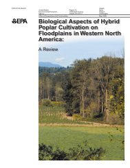 Biological Aspects of Hybrid Poplar Cultivation on Floodplains in ...