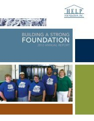 2012 Annual Report - HELP Foundation