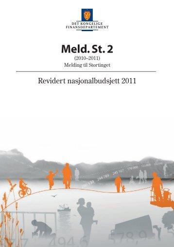 Revidert nasjonalbudsjett 2011 - Statsbudsjettet