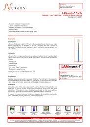 LANmark-7 Cable - Nexans
