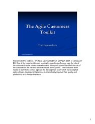 The Agile Customers Toolkit - Rally Software