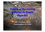 Future of the mining industry in Czech Republic