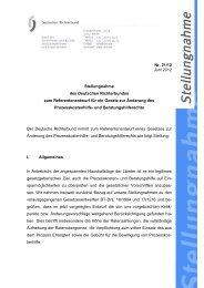 Deutscher Richterbund (PDF, 138 KB, Datei ist nicht barrierefrei)