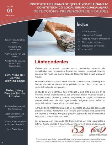 I.Antecedentes - IMEF