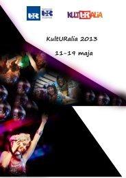 KultURalia 2013 11-19 maja