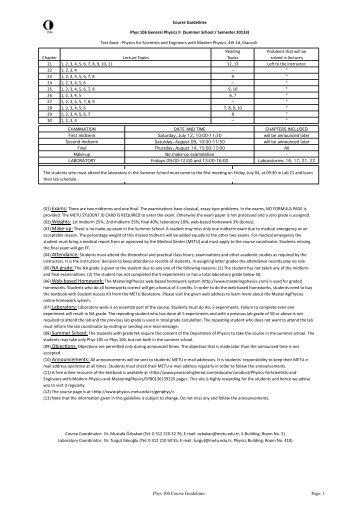 Phys 106 General Physics II