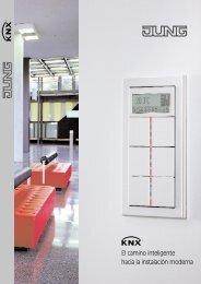 JUNG Catálogo Técnico KNX 2007 - Jungiberica.net