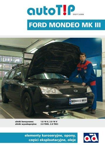 AutoTip nr 5 Ford Mondeo MK III