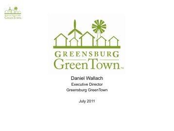Greensburg Greentown - Energy Development in Island Nations