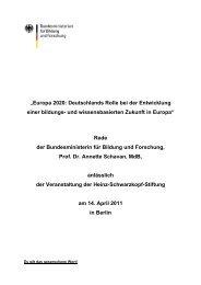 Europa 2020: Deutschlands Rolle bei der Entwicklung einer ...