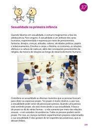 Sexualidade na primeira infância - MultiRio