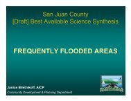 Frequently Flooded Areas Presentation - San Juan County