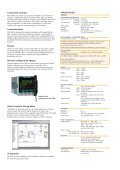to download the Eurotherm 3500 series datasheet in PDF format - Page 2