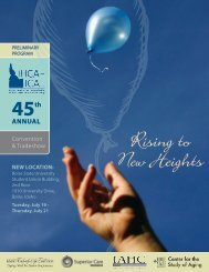 Rising to New Heights - Idaho Health Care Association