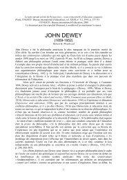 John Dewey - International Bureau of Education - Unesco