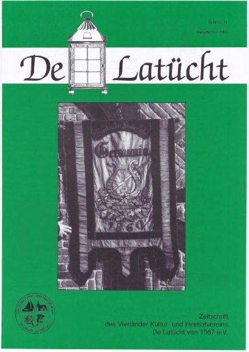 von Herbert Dahm am 23.Februar 2001, 20 Uhr, In ... - de-latuecht.de