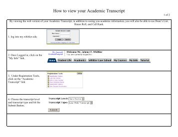 how to find academic transcript