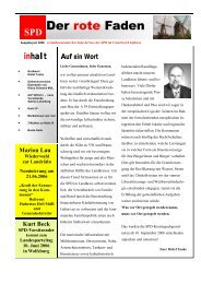 Ausgabe 6/06 - SPD Unterbezirk Gifhorn