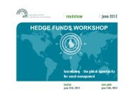 HEDGE FUNDS WORKSHOP - Alfi