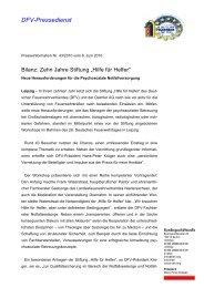 DFV-Pressedienst - Kreisfeuerwehrverband Fritzlar-Homberg