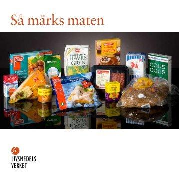 Så märks maten - Eskilstuna kommun