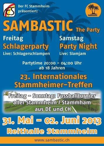 Sonntag - sambastic.ch
