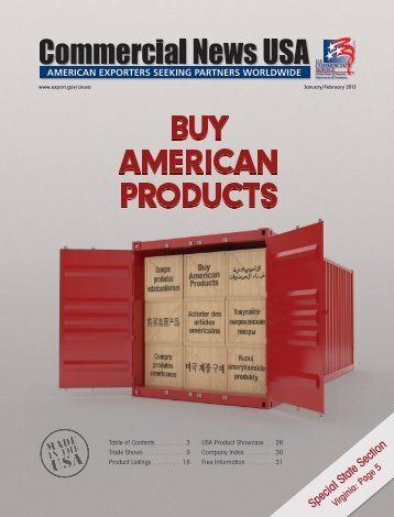 January/February 2013 issue - Commercial News USA