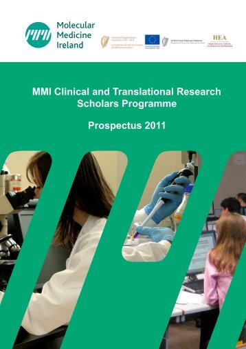 MMI Clinical and Translational Research Scholars Programme ...