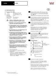 Page 1 DORMA DORMA RMZ 3 12 14 1 + 4 – 2 10 7 NO 8 NC 9 C ...