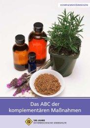 Das ABC der komplementären Maßnahmen - Krebshilfe ...