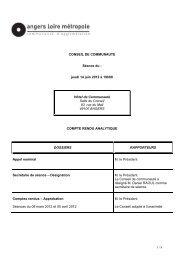 Compte rendu analytique - 138 Ko - Angers Loire Métropole