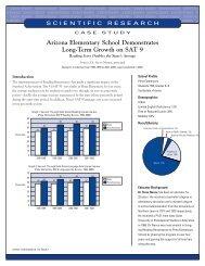 Arizona Elementary School Demonstrates Long-Term Growth on ...