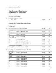 Grundlagen und Organisation von Kanton und ... - Kanton Luzern