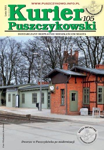 Kurier 105-fonty.indd - Stowarzyszenie Przyjaciół Puszczykowa