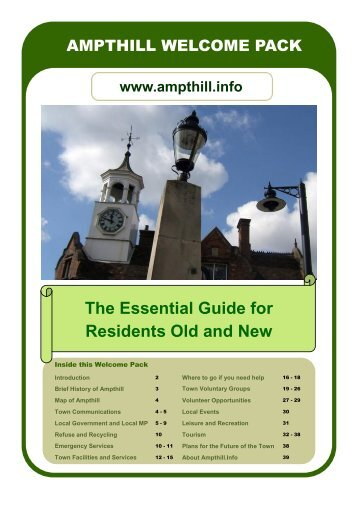 The Essential Guide for Residents Old and New - Ampthill - Past ...
