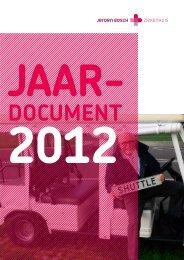 Klik hier voor ons jaardocument 2012 (PDF-bestand 5 Mb)