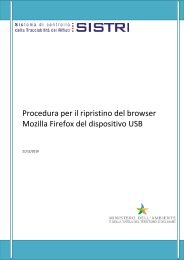 Procedura per il ripristino del browser Mozilla Firefox del dispositivo ...