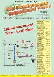 Spécial Mouvement Inter Académique - snuep