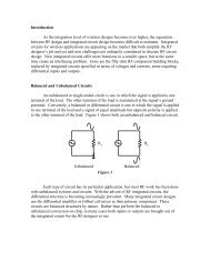 Introduction As the integration level of wireless designs becomes ...