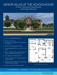 Senior Villas at the Schoolhouse_flyer.indd - Transwestern