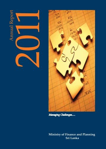 Annual Report - 2011 - Ministry of Finance and Planning