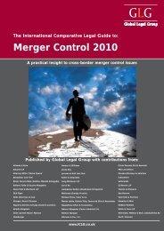 Merger Control 2010 - Setterwalls
