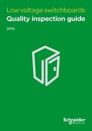 Quality inspection guide - Schneider Electric